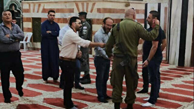 Israeli forces storm mosque, attack praying Muslims in West Bank
