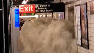 NYC mayor declares state of emergency after bombarding rainfall