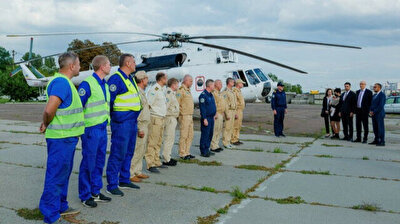 Ukrainian team heads home after helping Turkey contain wildfires