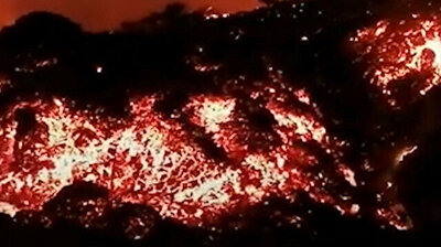 Volcano erupts on Spanish island for 1st time in 5 decades