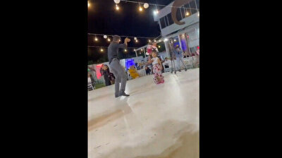 Dad dances with daughter in wonderful footage from Turkey wedding