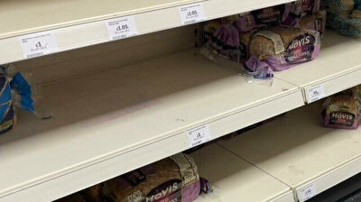 Empty shelves in London galore as UK struggles to find lorry drivers post-brexit