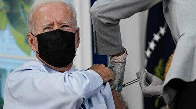 Joe Biden gets Covid booster shot during live broadcast