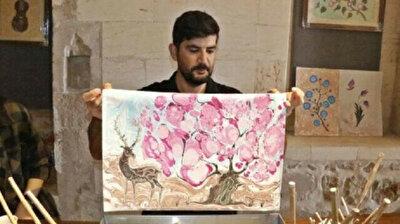 Turkish teacher takes traditional 'Ebru' art to the next level