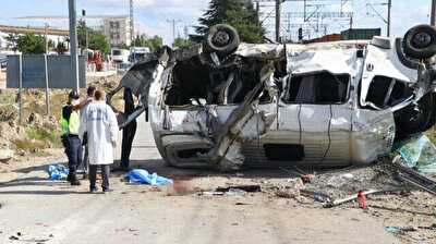 Six dead as freight train, bus collide in northwestern Turkey