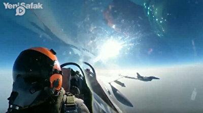 Erdoğan shares Turkish-made air-to-air missile's stunning performance
