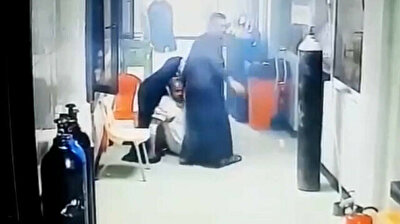 CCTV footage shows first moments of deadly Baghdad hospital fire