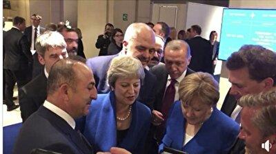 قادة بقمة الناتو من بينهم أردوغان يتابعون بالهاتف المحمول الدقائق الأخيرة من مباراة كرواتيا وإنجلترا بكأس العالم
