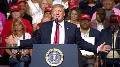 Trump defends trade and tariff policies at Tampa rally
