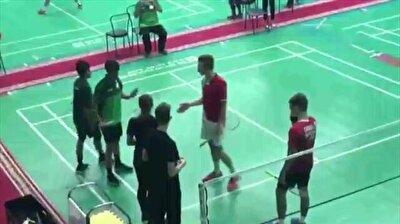 Saudi junior tennis players refuse to shake hands with Israeli adversaries
