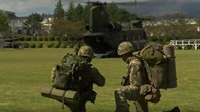 Japan, UK conduct first joint military drills near Mount Fuji