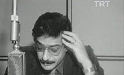 12 Eylül 1980 darbesini Ankara Radyosu'nda duyuran bir dönemin ünlü TRT Haber Spikeri Mesut Mertcan.
