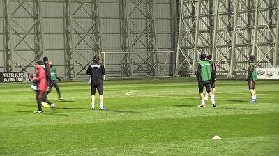 Training session of Turkish national team