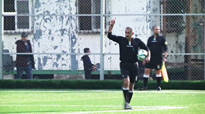 Palestinian referee stops match for Muslim call to prayer