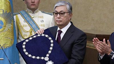 Tokayev sworn in as Kazakhstan's acting President