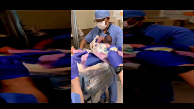 Arizona hospital staff drops newborn baby