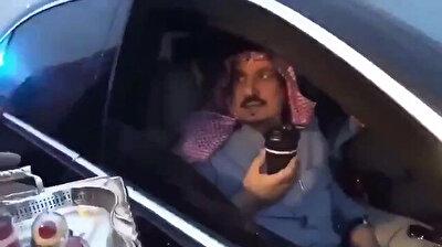 Sassy Saudi prince refuses to drink Turkish coffee