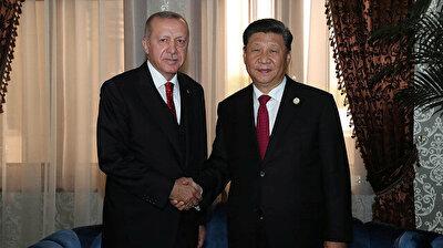 President Erdoğan meets Chinese counterpart Xi Jinping in Tajikistan