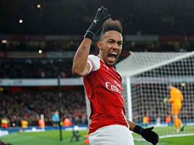Aubameyang bu sezon Arsenal formasıyla çıktığı 13 karşılaşmada 9 gol kaydetti.
