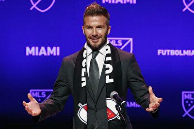 Inter Miami Kulübü'nün kurucusu ve başkanı David Beckham