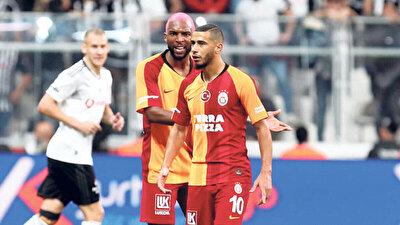 Galatasaray'da Babel ve Belhanda, Beşiktaş maçında kısa bir tartışma yaşamıştı.