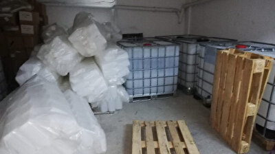Turkish police seize over 20 tons of ethyl alcohol in Ankara