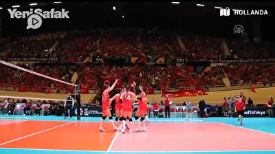 Volleyball: Turkish women qualify for 2020 Olympics