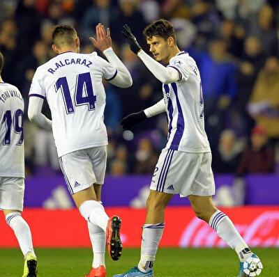 Enes Ünal bu sezon Valladolid formasıyla çıktığı 18 maçta 5 gol atarken 1 de asist yaptı.