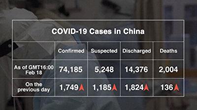 Latest statistics and graphics on coronavirus outbreak