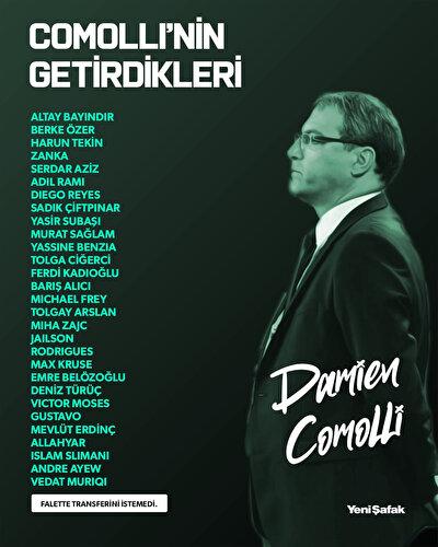 Fenerbahçe ile yollarını ayıran sportif direktör Damien Comolli, 1.5 yılda Fenerbahçe'ye 30 transfer gerçekleştirdi.