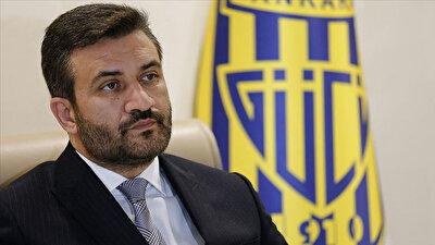 Ankaragücü Başkanı Fatih Mert