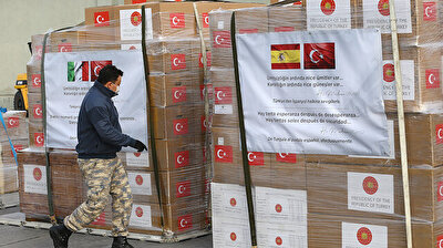Turkish military plane carrying aid heads to Spain, Italy