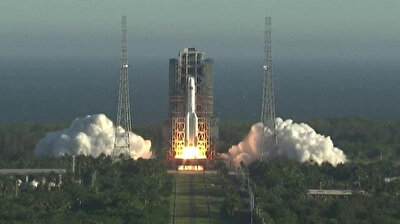 China's new large rocket Long March-5B makes maiden flight
