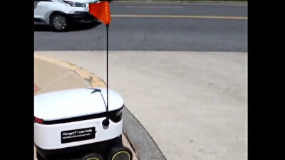 Robot fleet delivers meals to US residents amid lockdown