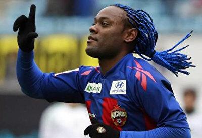 Vagner Love kariyerinin en parlak dönemini CSKA Moskova'da yaşamıştı.