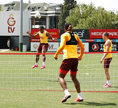 Galatasaray antremanı