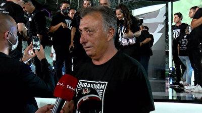 Beşiktaş Başkanı Ahmet Nur Çebi'den Balotelli itirafı