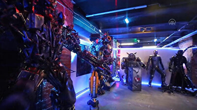 Rise of Machines Museum in Moscow