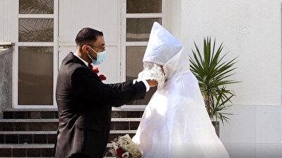 Traditional weddings in Gaza Strip toned down amid COVID-19