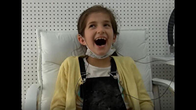 10-year-old deaf Syrian girl hears for the first time in heartwarming moments in Turkey