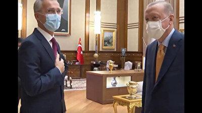President Erdoğan, NATO chief hold talks in Ankara