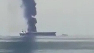 Three missing after explosion on empty Russian oil tanker