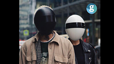 Futuristic face mask protects people from being tracked, as well as Covid-19