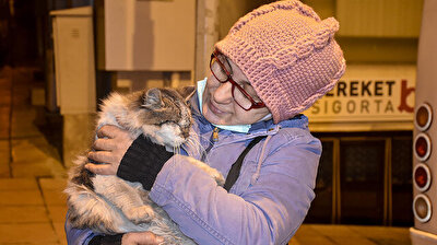 Turkish woman cares for stray animals for 20 years