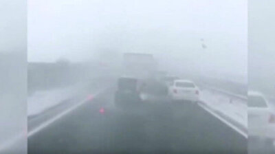 Heavy snowfall causes 130-vehicle collision in Japan; 1 dead 10 injured
