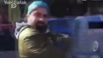 Dance with death: Motorcyclist drives his bike 'hands-free' in Istanbul