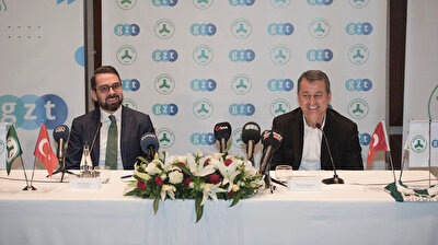 Giresunspor'un isim sponsoru GZT oldu