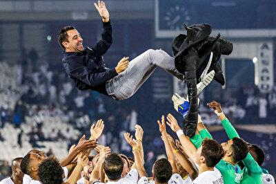 Xavi, formasını giydiği Al Sadd'da teknik direktör olarak şampiyonluk yaşadı.