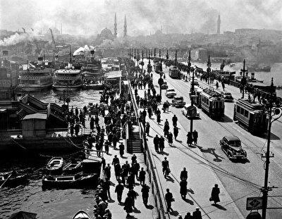 Galata Köprüsü, 1960'lar