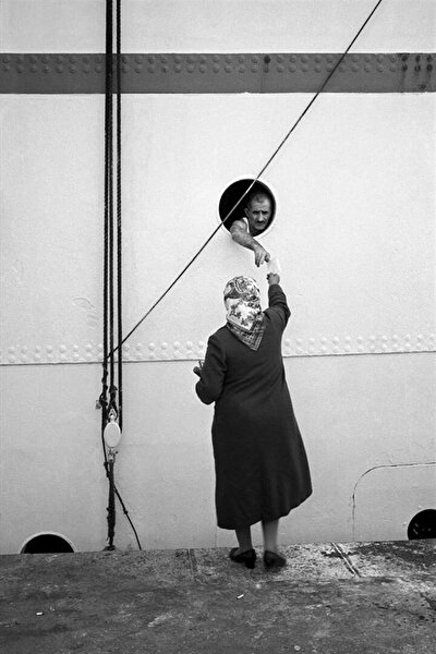 Eminönü rıhtım, 1955